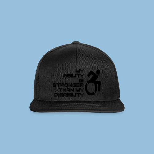 Ability1 - Snapback cap