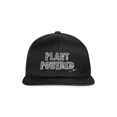 plant powered White - Snapback Cap