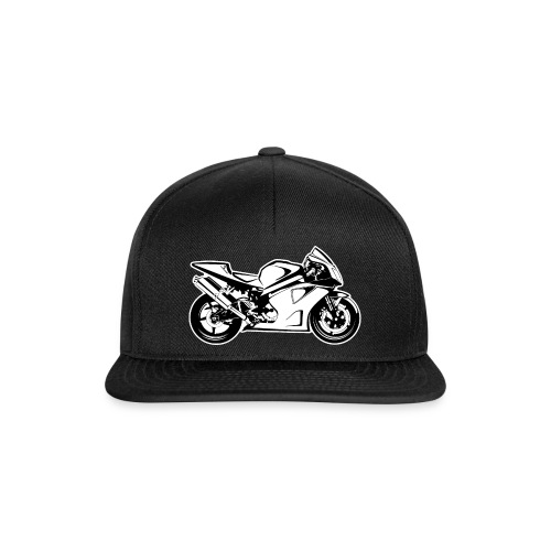 VTR 1000 SP-2 for Dark Clothes - Black - Snapback Cap