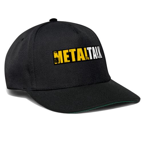 Classic MetalTalk - Snapback Cap
