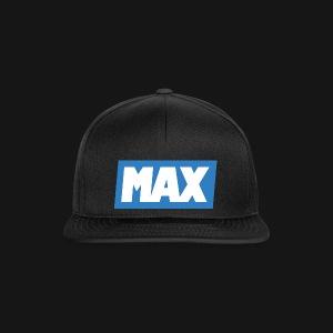 Max Blue/White - Casquette snapback
