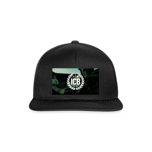 ICB Logo mit Hintergrund - Snapback Cap
