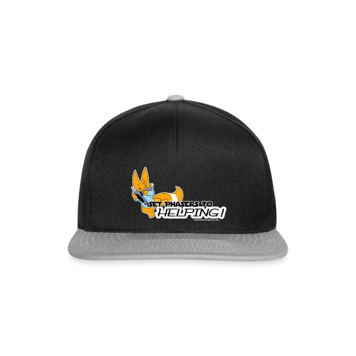 Set Phasers to Helping - Snapback Cap