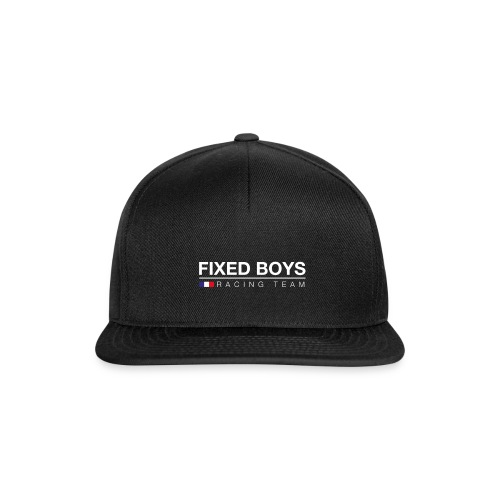 Racingteam White png - Casquette snapback