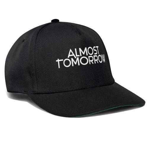 Almost Tomorrow Logo White - Snapback Cap