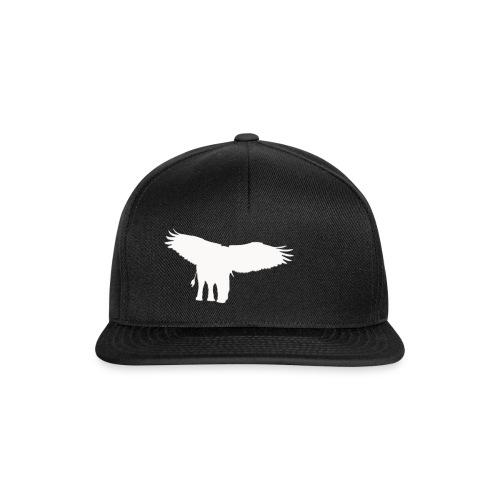 Adlerfant_Logo_WEIß - Snapback Cap