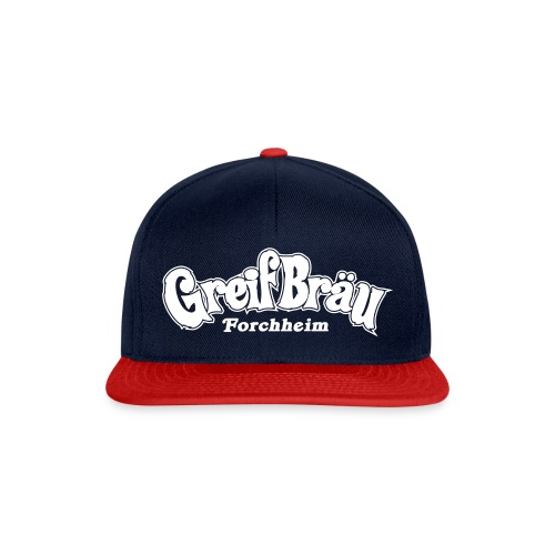 logo - greif schriftzug - Snapback Cap