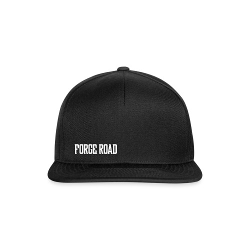 Forge Road Logo - White - Snapback Cap