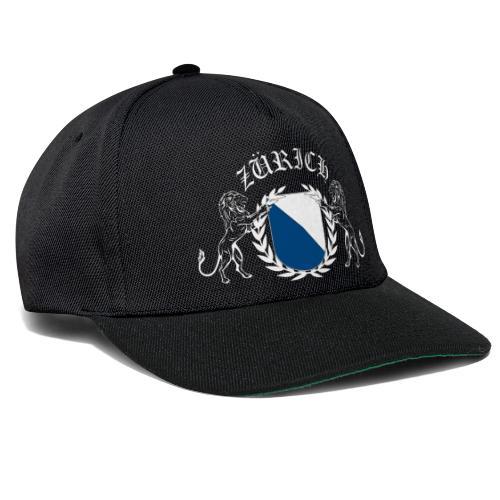 ZÜRICH LOGO FINAL WHT - Snapback Cap