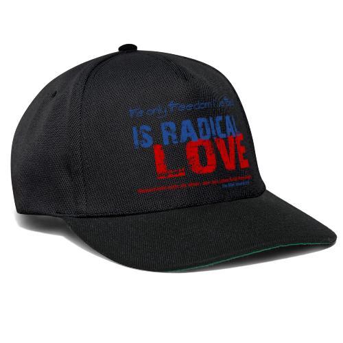 Radikale Liebe blue - Snapback Cap