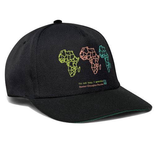 Ramer-Douglas-Peucker Algorithm -Africa - Snapback Cap