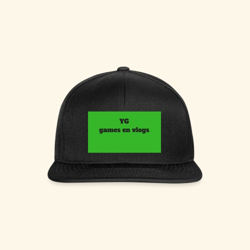 YGgames en vlogs - Snapback cap
