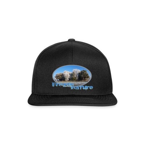 Frozen Nature - Snapback Cap