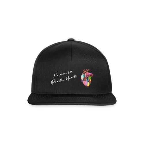No place for plastic hearts - Snapback Cap