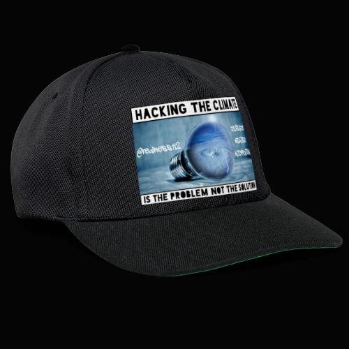 Hacking The Climate! Truth T-Shirts! #Climate #SRM - Snapback Cap