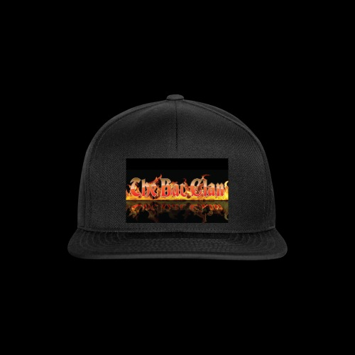 bat clan fire logo - Snapback Cap