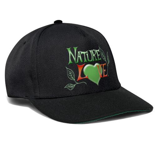 Nature Love - Snapback Cap