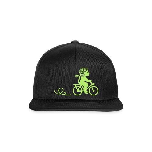 Züri-Leu beim Velofahren ohne Text - Snapback Cap