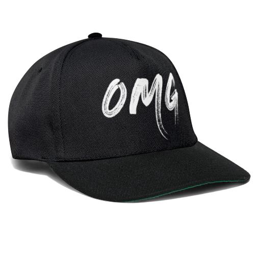 OMG, valkoinen - Snapback Cap