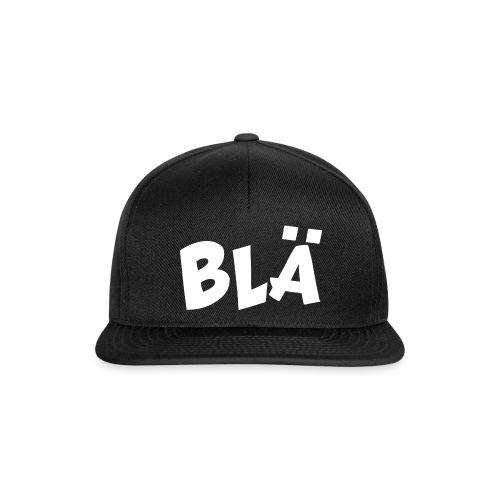 BLÄ logo - Snapbackkeps