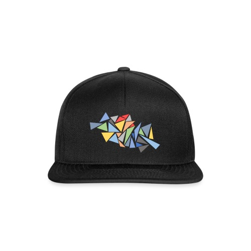 Modern Triangles - Snapback Cap
