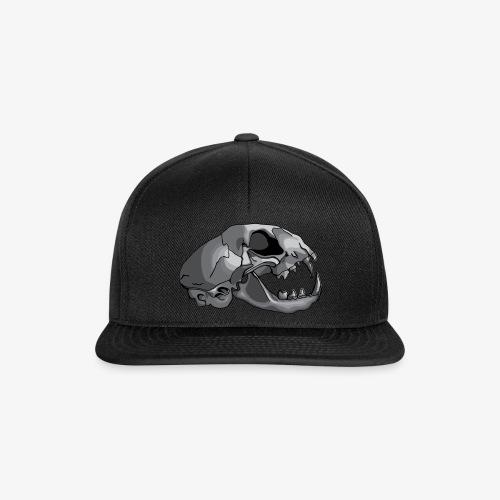 cat skull - Snapback Cap