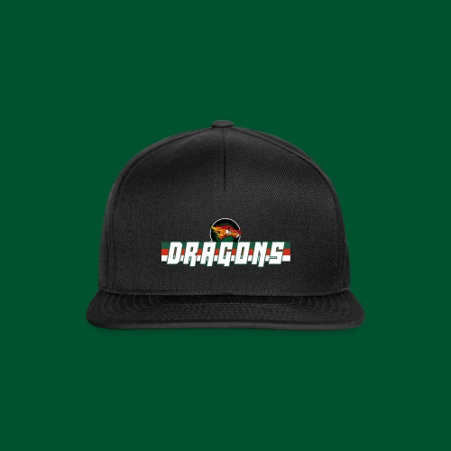 Dragons - White - Snapback Cap