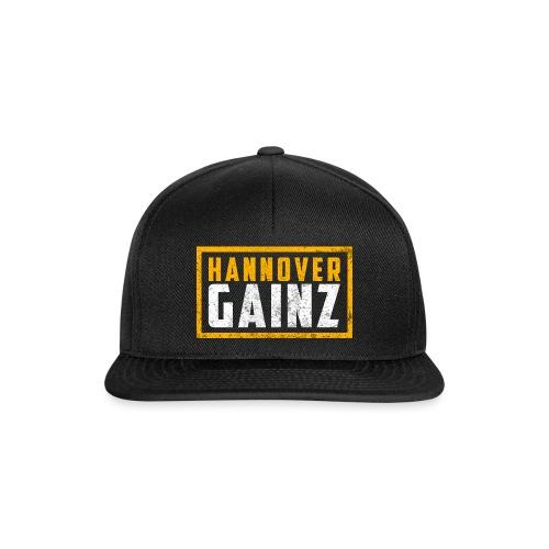 Hannover Gainz Logo png - Snapback Cap