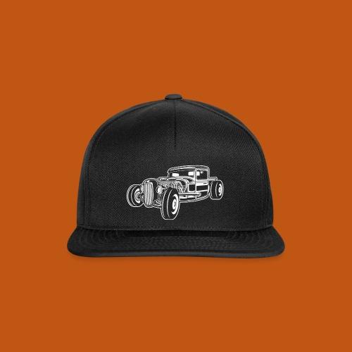 Hot Rod / Rad Rod 06_weiß - Snapback Cap