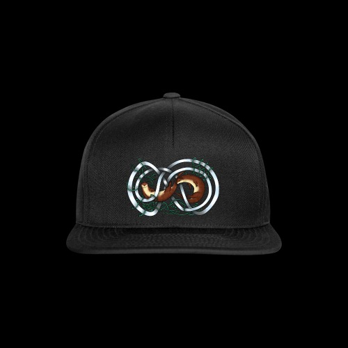 Otters entwined - Snapback Cap