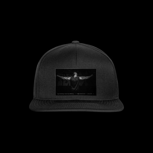 Unusual-Gym-Rat Gun Black - Snapback Cap