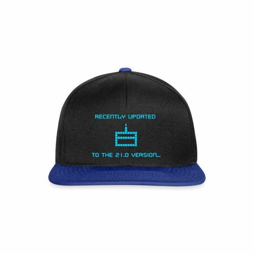 Recently updated to version 21.0 - Snapback Cap