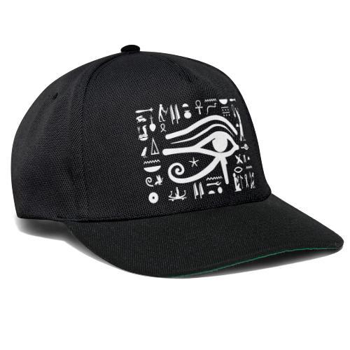 HORUS Hieroglyphen - Snapback Cap