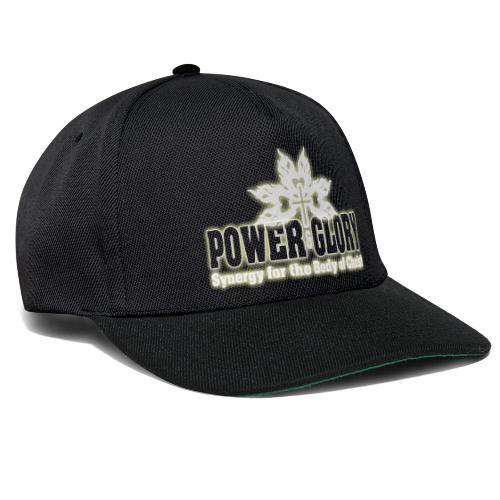 Power and Glory Logo glow - Snapback Cap