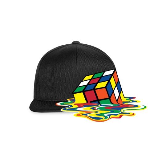 Rubik's Cube Melted Colourful Puddle - Snapbackkeps