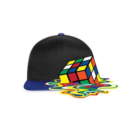 Rubik's Cube Melting Cube - Snapback Cap