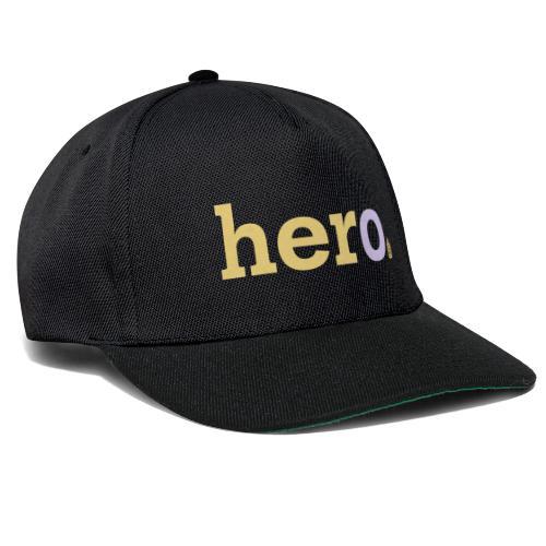 her o - Snapback Cap