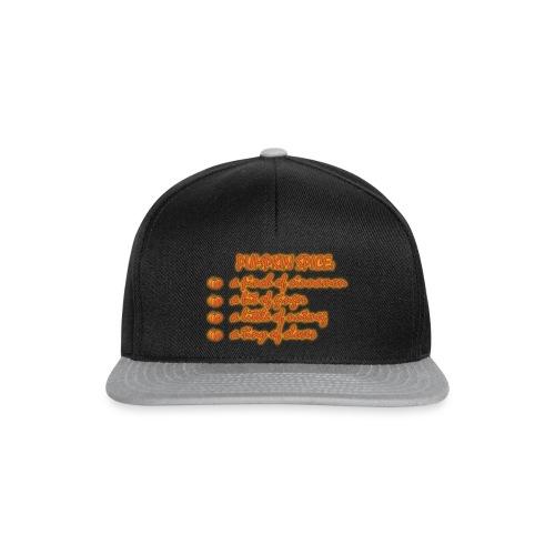 PumpkinSpiceRecipe - Snapback Cap