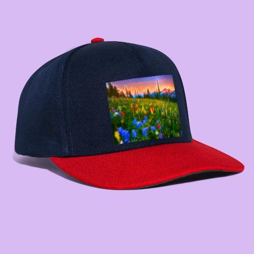 Bagliori in montagna - Snapback Cap