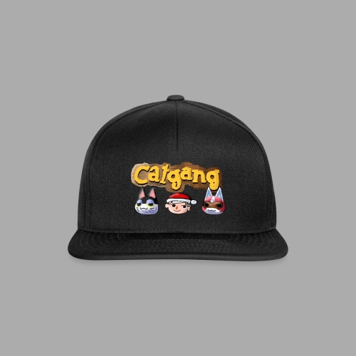 Animal Crossing CatGang - Snapback Cap