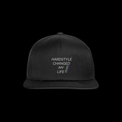 Hardstyle Changed my Life! - Snapback Cap