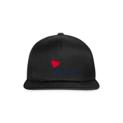 I Love Finland - Snapback Cap