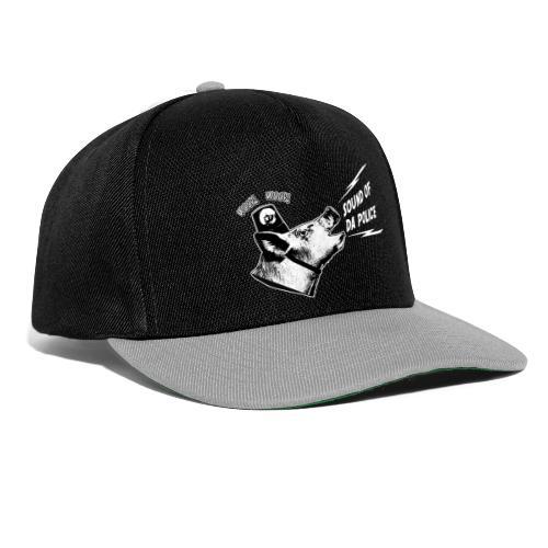 Sound of da Police - valkoinen printti - Snapback Cap