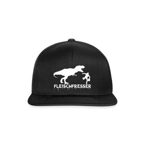 fleischfresser weiss - Snapback Cap
