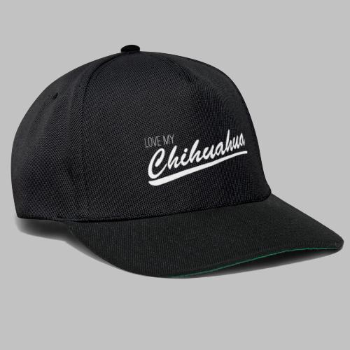 LOVE MY Chihuahua - Snapback Cap