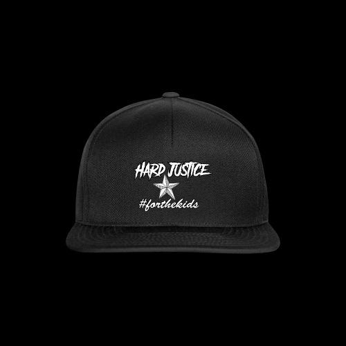 Hard Justice #ftk White - Snapback Cap