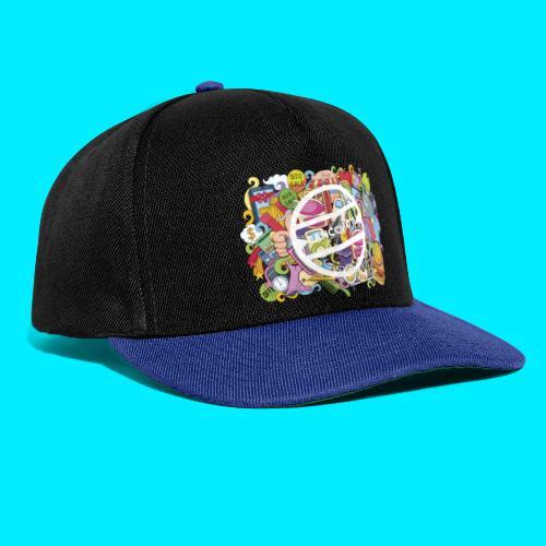 maglia logo doodle - Snapback Cap