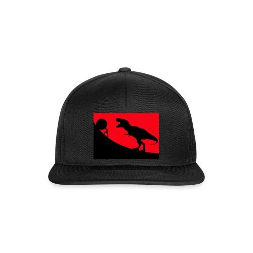t rex red - Snapback Cap