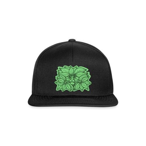 Green Man for Pagan Global Warming/Climate Change - Snapback Cap