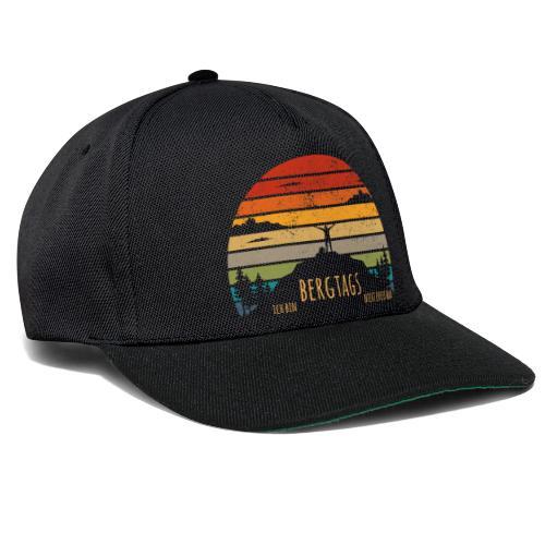 lustige Wanderer Sprüche Shirt Geschenk Retro - Snapback Cap